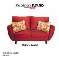 Ivaro Sofa 2 Seater Muffin / sofa minimalis scandinavian modern