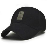 EDIKO Topi Baseball Golf Logo Ediko Sport Fashion [Hitam]