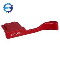Thumb Grip Warna Merah untuk Fujifilm Fuji x100f x100t X70 X30 x-e3