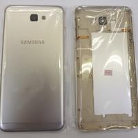 Case Kondom Fullset Samsung G610 Galaxy J7 Prime Silver Premium