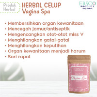 Vagina spa tubuh badan miss V herbal celup ratus V