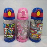 Terlaris Botol minum R862 600ml Motif Smiggle Smigel Smigle Terlaris