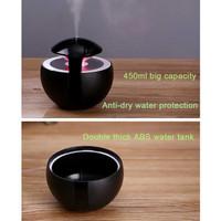 Alat Pelembab Ruangan /Air Diffuser Humidifier 450ml Led Lampu Tidur -
