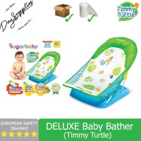 Sugar Baby TIMMY TURTLE Deluxe Baby Bather (Green) - Bangku Mandi Bayi