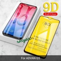 tempered glass full cover Advan G5 anti gores kaca screen protector