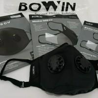 Masker BOWIN N99 N95 CV Double Filter Valve Masker Anti Virus (Ready)