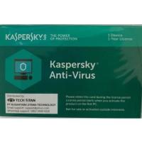 KASPERSKY ANTI VIRUS 1 USER 1 YEAR