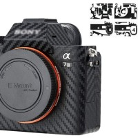 Carbon Skin Protector Sticker for Sony a7 III A7III a7R III