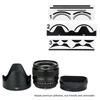 Leather Texture Skin Protector Sticker for Fujifilm XF 23mm F1.4 R