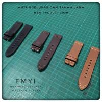 Tali Jam Tangan Kulit Asli - Brown Size 24mm