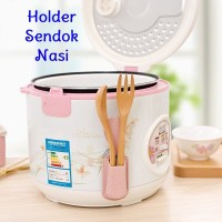 Holder Centong Sendok Nasi Warna Rice Cooker Rice Spoon Magic Com
