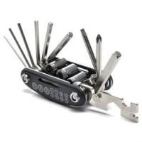 Obeng Multifunctional 15 in 1 EDC Repair Tool Kunci L Murah