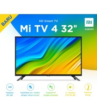 New Xiaomi Mi TV 4 32inch Android LED Smart TV 32 (penerus seri 4A)