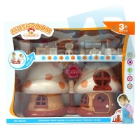 Mushroom House Mainan Anak Rumah rumahan boneka bentuk jamur