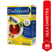 Gula rendah kalori tropicana slim diabetamil pemanis gula diabetes