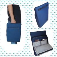 Tas Laptop Double pocket Macbook,Asus,Lenovo ukuran 14 inch