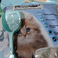 Paket pasir kucing dan sekop khusus gojek