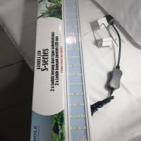 lampu led 60-70cm aquarium aquascape kandila S-SERIES murah terbaik