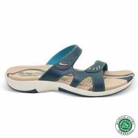 Homyped Ashley N35 Biru Sandal Flat Wanita