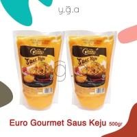 Euro Gourmet Cheese Sauce Saus Keju 500gr