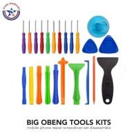 1 set Obeng Lengkap Pembuka LCD - Tool set pembuka LCD Tools Kit