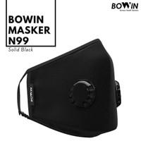 BOWIN Masker Motor - Dual Filter Karbon N99 CV (Masker Anti Polusi)