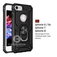 Hard Case Iphone 6 6s 6 Plus 7 7 Plus 8 8 Plus Ring ARMOR Kickstand