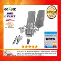 BOYA BY-M1000 Large Diaphragm Cardioid Condenser Microphone Mic - NEW