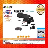 BOYA BY-VM600 Cardioid Microphone for DSLR, Camera, Camcorder ORI
