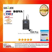 BOYA TX8 PRO Digital Wireless Bodypack Transmitter 100% ORIGINAL