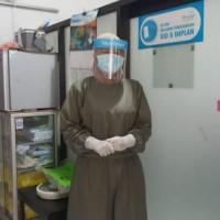 juba/gaun bedah APD/baju operasi/bahan parasut premium/surgical gown