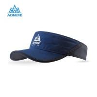 Aonijie E4080 Visor Hat Quick Dry - Topi Lari Sepeda Golf - NAVY BLUE
