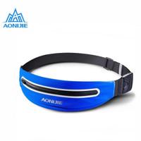 Aonijie Waist Bag E919 - Tas Pinggang lari sepeda gym - Dark Blue