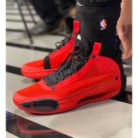 Sepatu Nike Air Jordan 34 Infra Red 23 Premium Original