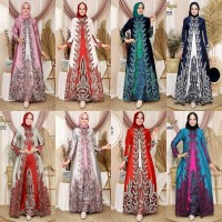 Gamis wanita setelan muslim wanita setelan rok aneka pilihan warna