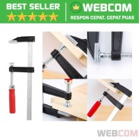 Klem Jepit F Clamp Papan Kayu Heavy Duty Woodworking Mebel Tools Murah