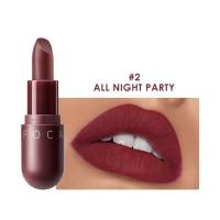 FA87 FOCALLURE NEW Matte lipstick red brown velvet lip Kosmetik #02