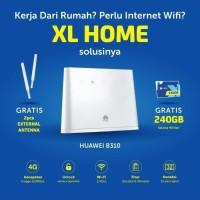 Router Modem Wifi 4G Huawei B310 XL Go UNLOCK Free 240GB dan Antena
