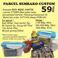 MINI BOX- PARCEL SEMBAKO|PARCEL CANTIK|PARCEL LEBARAN|PARCEL CUSTOM
