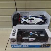 Mainan mobil remote control rc polisi Rc police car
