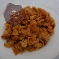 Emping Jagung Pedas Manis 250gram ( Snack / Camilan )