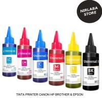 Tinta Refill Isi Ulang Cartridge 100ml Printer HP 2135 1515 1112 3635