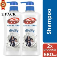 2 x 680ml shampoo lifebuoy sampo lifeboy Anti Ketombe Anti Dendruff