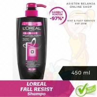 LOREAL Paris Hair Fall Resist 3x Shampo Shampoo Rontok 450 ml 450ml