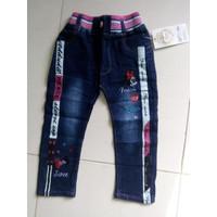 Celana Panjang Jeans Anak perempuan 2 - 3 - 4 Tahun
