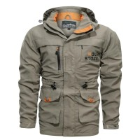 fashion army military trench coat jacket / hoodie jaket militer