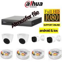 PAKET CCTV DAHUA 4CH FULL HD 1080P LENGKAP
