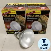 Exoterra Solarglo UVA UVB 80 Watt|Lampu Penghangat|Lampu Matahari