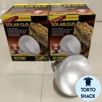 Exoterra Solarglo UVA UVB 125 Watt|Lampu Penghangat|Lampu Matahari