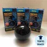 Exoterra Night Glo Night Heat Lamp 50 Watt|Lampu Basking Malam